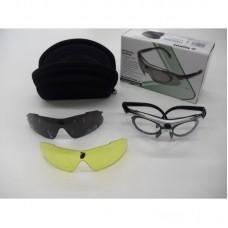 Oculos Konus Shooting-4 Set 3 Cores - Branco-Amarelo-Cinza