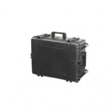 Mala Megaline Heavy Duty TS Preta c/Rodas 620x460x340mm